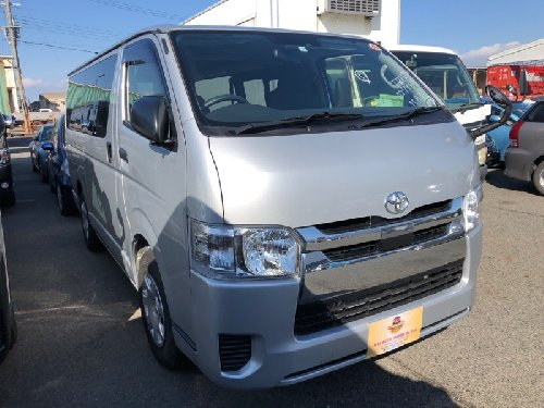 2018 Toyota Hiace Japanese Used Cars MYK Autotrade