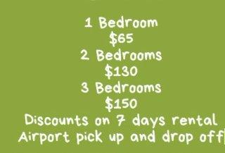 3 Bedroom House - Short Term Rental (US$90/night)
