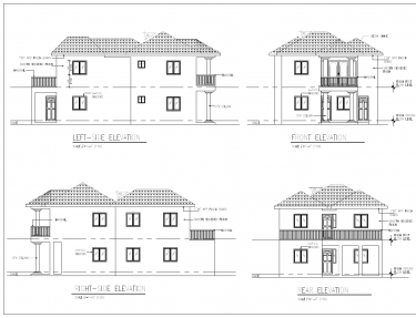 Building Plans (Working Drawings) & 3D Modelling