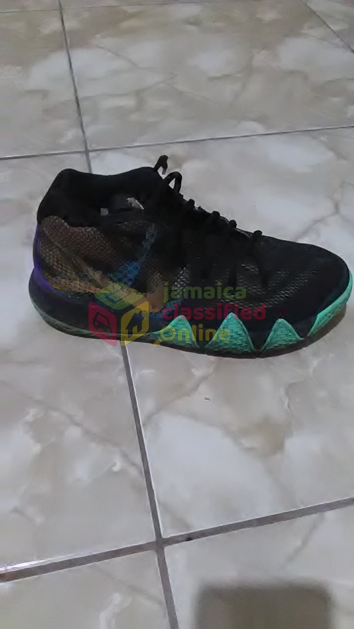 info for 27cd2 c2dd4 Nike Kyrie 4 'Mamba Mentality' Black/Sonic Yellow for sale ...
