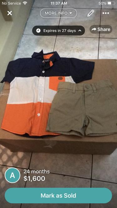 Boy Clothes Size, 12, 18, 24 Months