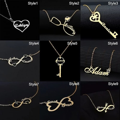 CUSTOMIZED NECKLACE AND BRACELET