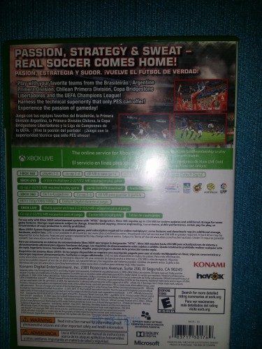 Pes 2014 For Xbox 360