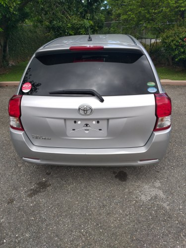2014 Toyota Fielder - Silver