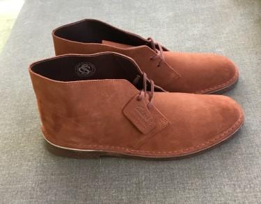 Brand New Clarks | Mahogany Desert | US 12
