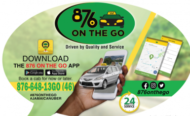 876 OnTheGo #Jamaican Uber# The Best Taxi Service Other Market 237 Old Hope Road | TIC, Kgn 6