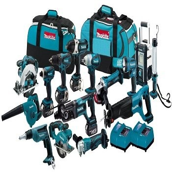 Makita  LXT 1500 18 V Roe 15 TOOLS COMBO Kits