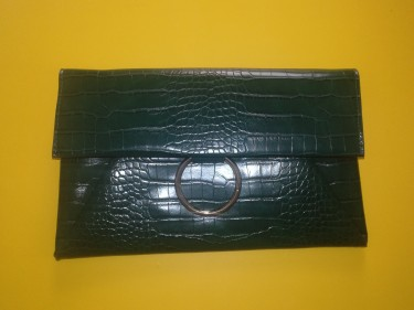 Brand New Green Clutch Bag/Purse