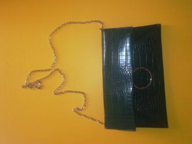 Brand New Green Clutch Bag/Purse