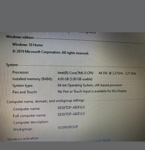 Lovely Hp Laptop For Salecoming In Mid September