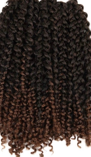NEW 2 PACKS OF OMBRE KINKY CURLY HAIR