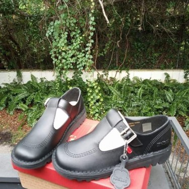 Girl Kickers Shoes Size 35