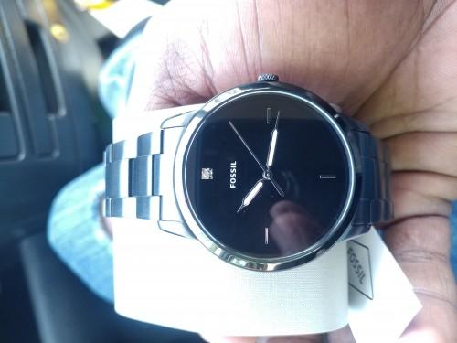 Fossil Gunmetal Watch