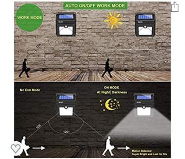 Solar Motion Senor Lights