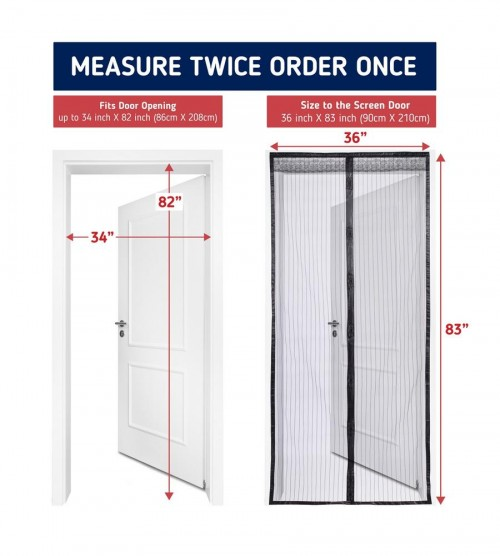 Magnetic Screen Door AKA Mosquito Door Mesh