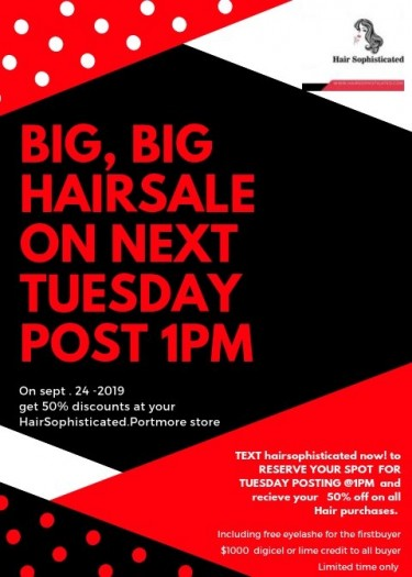 DEALS FREE $500 DIGICEL WITH ANY PURCHASING ON WIG