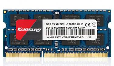 KUESUNY 8GB DDR3L-1600 Sodimm RAM,