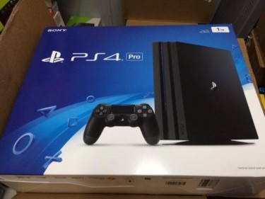 BRAND NEW SONY PLAYSTATION 4 PRO 1TB CONSOLE