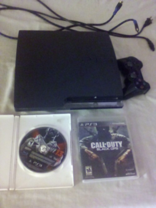 Ps3 Selling Very Cheap With 2 CD 1 Control 5 Jail