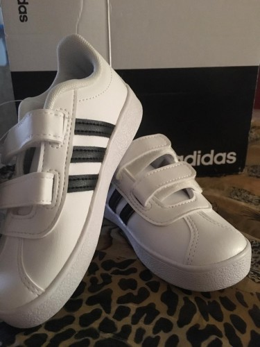 Adidas Black And White Sneakers