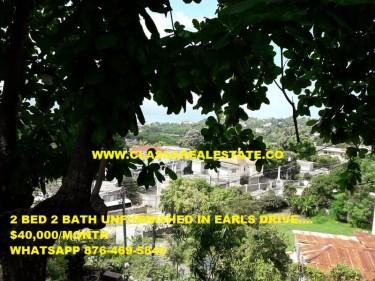 UNFURNISHED 2 BEDROOM 2 BATH APARTMENT FOR RENT