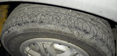 4× 5 Lug Rims With Maxxis Tyres