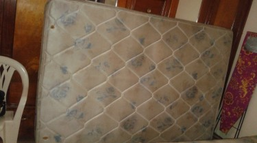 Used Double Mattress And Base For Sale