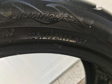 Tyre KUMHO 225/45 ZR17