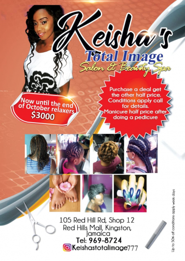 Keisha's Total Image Salon & Beauty Spa Hair Red Hills Road