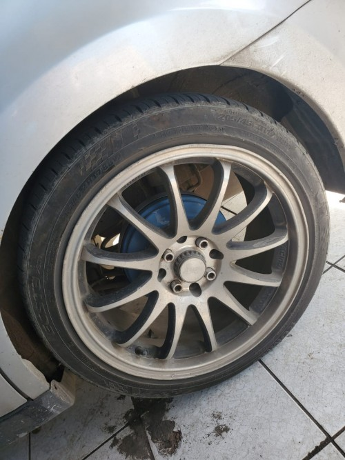 Rims And Tyre 17