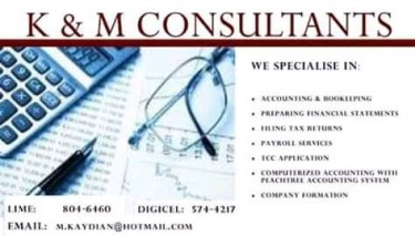 Accounting And Bookeeping Services Provided
