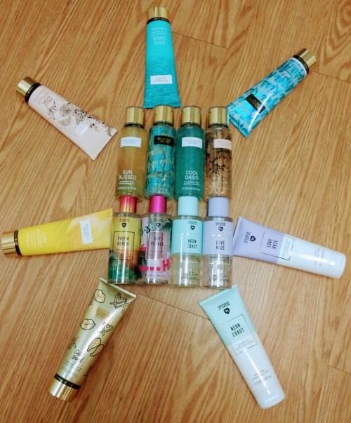 Victoria's  Secret Lotion , Bodysplash, Powder