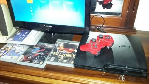 Ps3 For Sale In  Very Good Condition Will Trade Tv