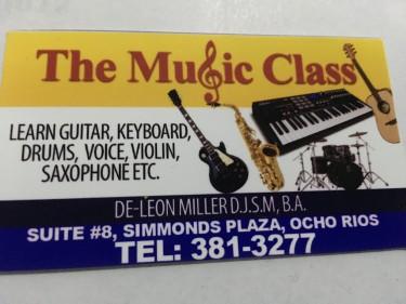 "Come To ""The Music Class"" In Ocho Rios ?"
