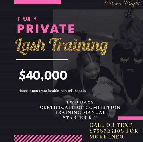 Fusion Lash Training