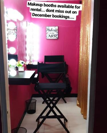 One Makeup Booth And One Lash Room Rental