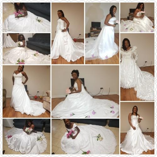 Bridal Dresses/ Wreaths Decorations Longville Park
