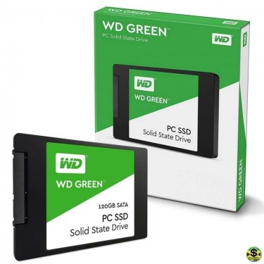 WD Green SSD - Solid State Drive - 120GB