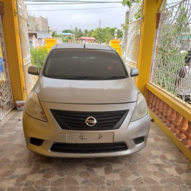 2013 Nissan Latio Silver  Cars Spanish Town