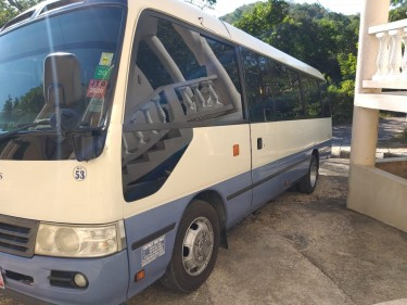 Toyota Coaster GX Buses Runaway Bay