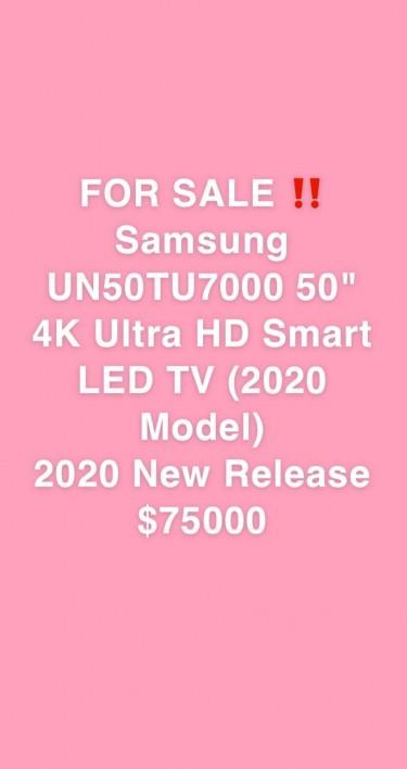 "BRAND NEW 50"" SAMSUNG SMART TV"