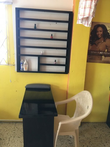 Hairdresser Booth And Nail Booth
