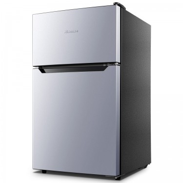 Hisense 3.2 Cu Ft Two Door Mini Fridge W/Freezer Appliances Kingston