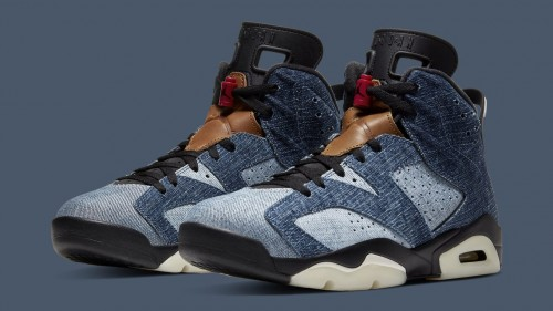 Jordan Retro 6 Denim
