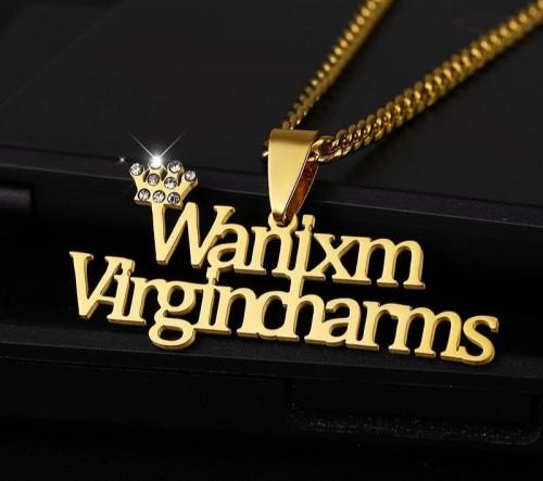 Custom Crown Necklace