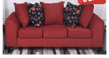 Red Sofa (2 Pieces)