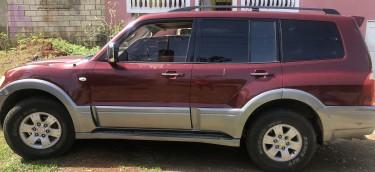 2004 Mitsubishi Pajero  Vans & SUVs Ocho Rios