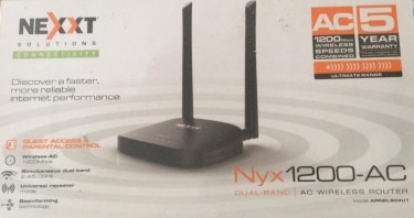 Nexxt Wireless Router (New)