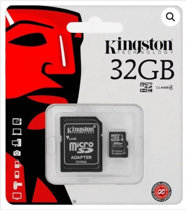 Kingston Micro SD Memory Card 32GB