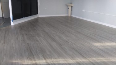 Vinyl Flooring Construction Washington Boulevard